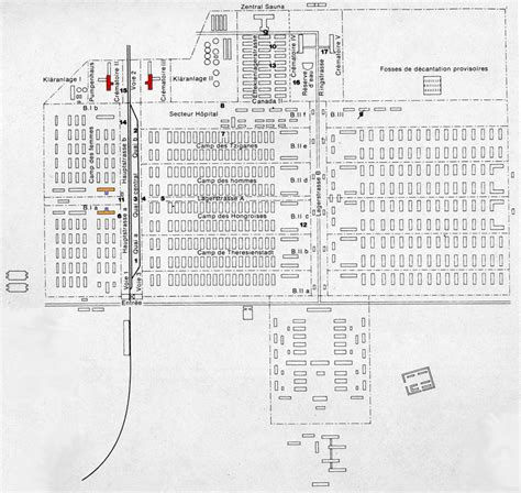 auschwitz diagram auschwitz ii map of birkenau c