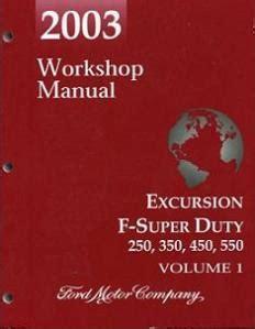 2003 Ford Excursion F250 F350 F450 F550 Amp F Super Duty