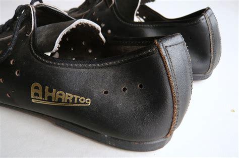 vintage bike shoes a den hartog cycling shoes size 39 classic steel bikes