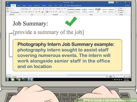 how to create description template how to create a description template with pictures