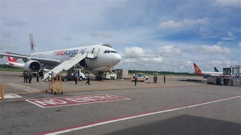 mab kargo operates  relief flight  rohingya