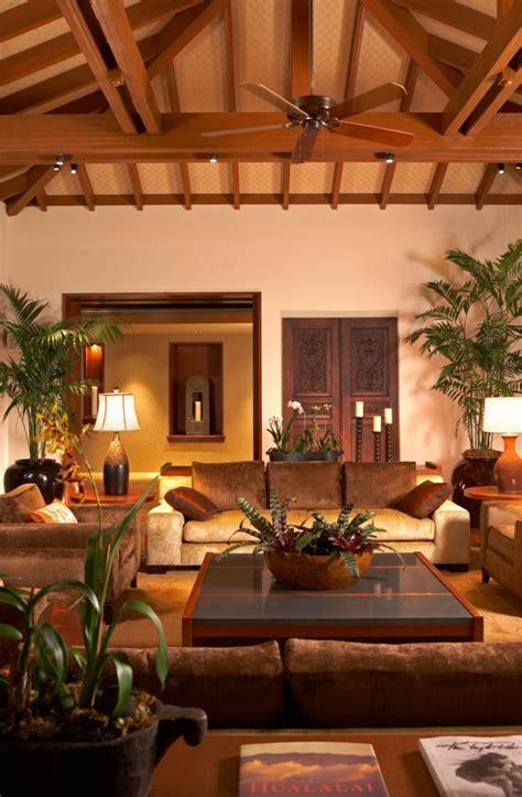 exotic tropical living room designs    enjoy