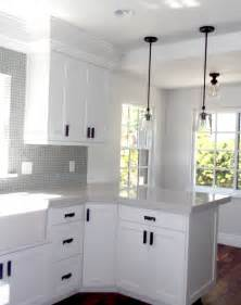 delightful Home Depot Kitchen Cabinets Knobs #2: alluring-interior-small-kitchen-design-featuring-mahogany-wooden-new-concept-white-cabinet-renovations-with-black-handle-pull-and-great-grey-counrtertop-connected-tile_handle-cabinet-kitchen_kitchen_k.jpg