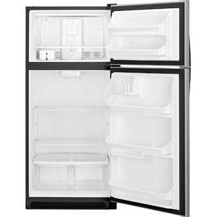 kenmore   cu ft stainless steel refrigerator