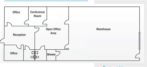 floor plan of a warehouse floor plans esplanade center