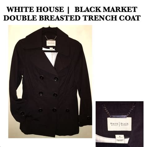 white house black market coats 82 off white house black market jackets blazers white house black market trench