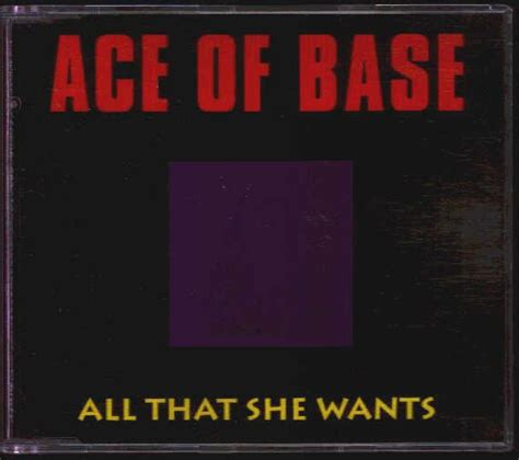 all that she wants ace of base all that she wants records lps vinyl and cds