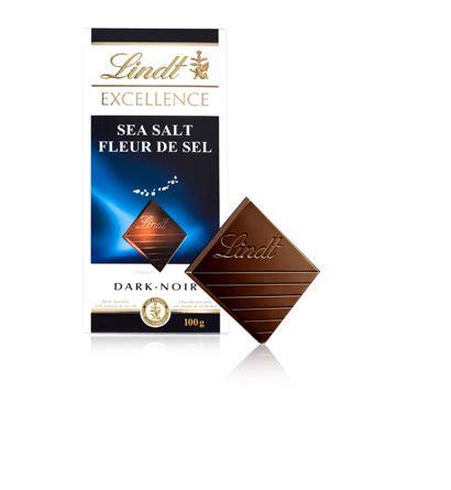 Lindt Excellence Seasalt 100g lindt excellence bars sea salt 100g smart city foods