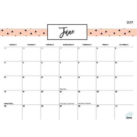 positive thoughts printable  calendar  cute