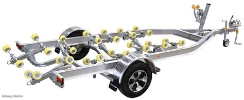 boat trailer rollers perth wa dunbier aluminum super roller series boat trailer for sale
