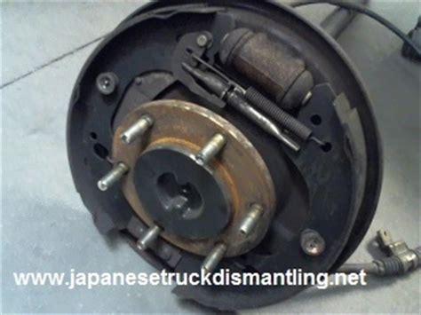1998 1999 2000 2001 isuzu rodeo axle shaft right rear 2wd