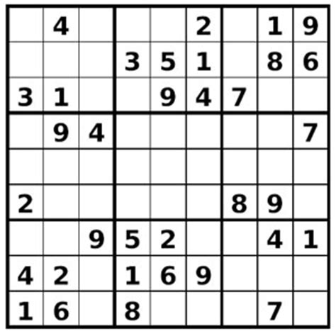 Grille De Sudoku Facile à Imprimer by Sudoku