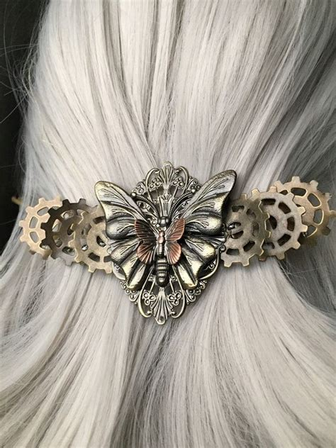 Butterfly Hair Accessories For Weddings by Wedding Hair Accessories Or Thick Hair Barrette