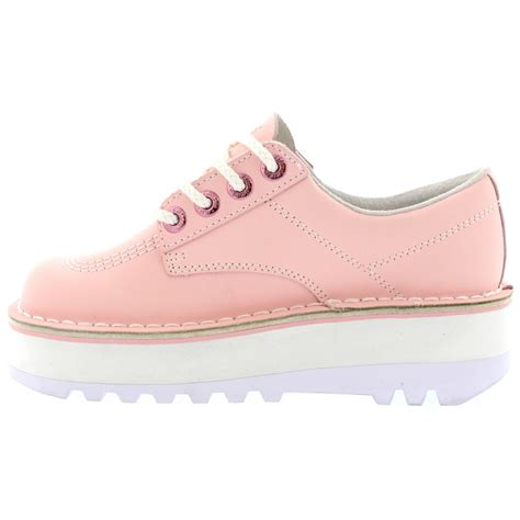 womens pink kickers boots with model pictures sobatapk