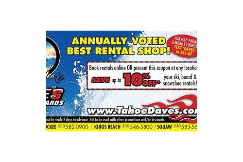 north shore ski and board coupon