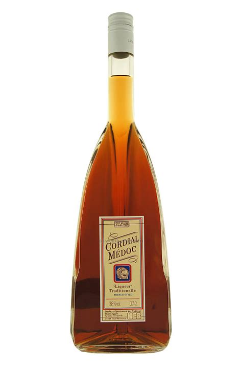 cordial medoc liqueur traditionelle french style 0 70 liter vol 38 10 95 eur weinquelle
