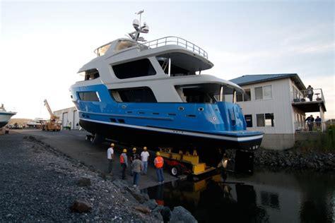 boat marina fails splash down failed northern marine launch creates