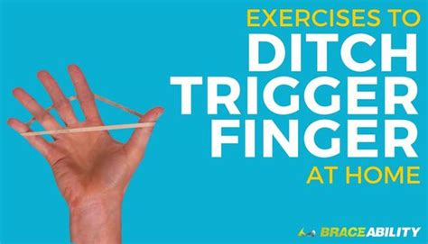 exercises   treat  trigger finger  thumb