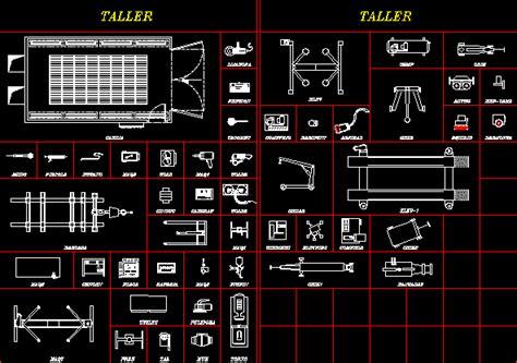 workshop layout dwg blocks of shop tools dwg block for autocad designs cad