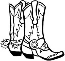 cowboy boots coloring pages az coloring pages