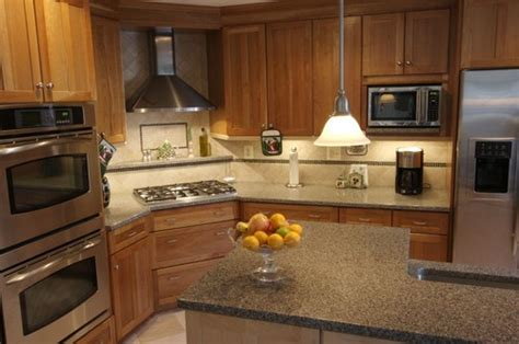corner cooktop what is the length of the wall with the ovens to
