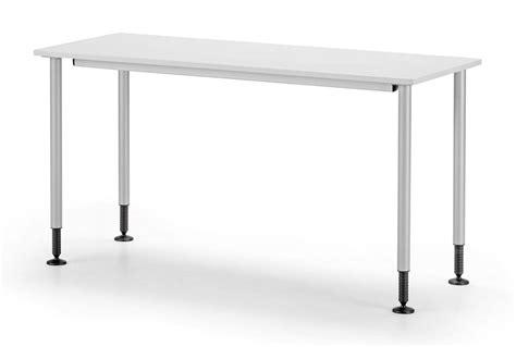 tavoli regolabili tavolo semplice in metallo piedini regolabili per