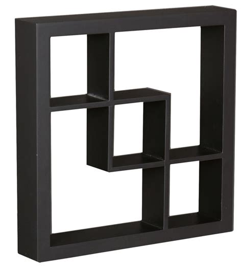 arianna display shelf black contemporary display and