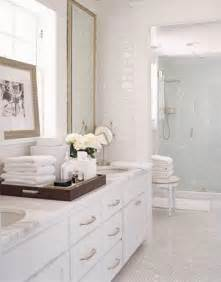 White Bathroom Countertops by White Vanity With White Marble Countertop