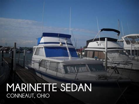 boats for sale conneaut ohio sold marinette sedan boat in conneaut oh 128517