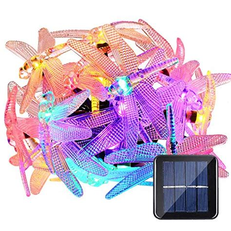 dragonfly solar string lights shop for luckled dragonfly solar string lights 16ft 20