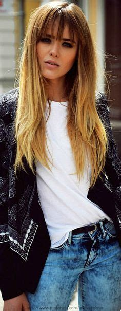 picture of long dark hair eith gray teverse frost 1000 ideas about bangs long hair on pinterest side