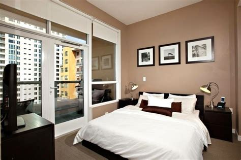 italy loft condo taupe beige bedroom contemporary bedroom