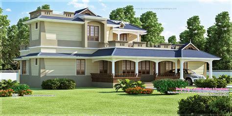 Luxury 5 Bedroom Villa Kerala Luxury Sloping Roof 5 Bedroom Villa Exterior Home Kerala Plans