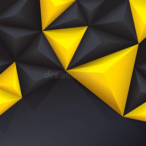 yellow geometric background design vector from free vector yellow and black vector geometric background stock vector