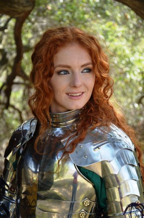hairy virginia in the world virginia hankins redhead in plate armor women wearing