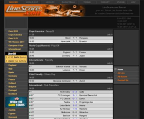 livescorcom livescorecom soccer  scores