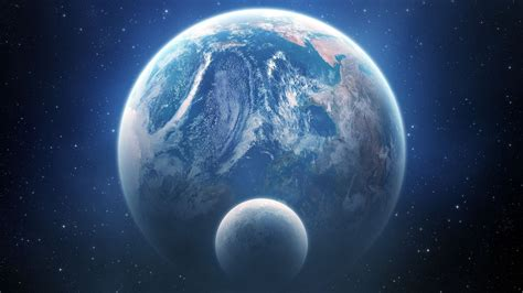 earth view wallpaper mac 1280x720 earth and moon outer space view desktop pc and