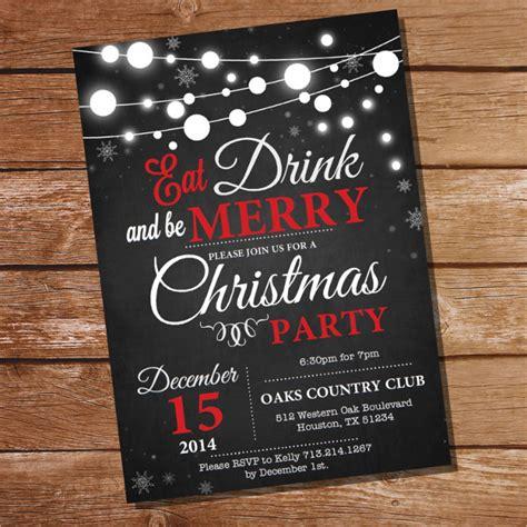 christmas party invitation templates psd ai word publisher  premium templates