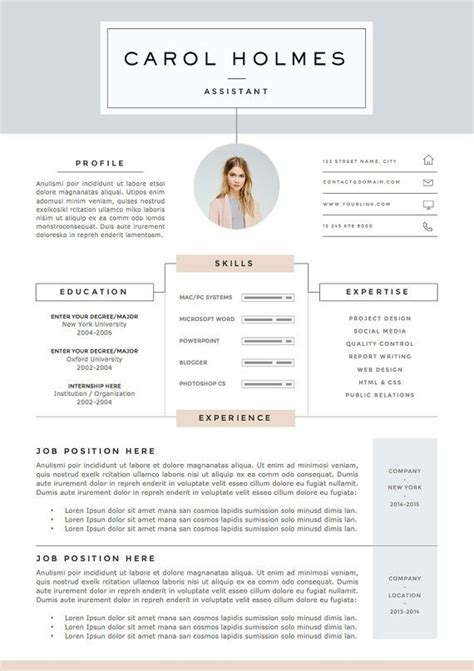 creative curriculum vitae sles 5 page mod 232 le de cv et lettre de motivation r 233 f 233 rences