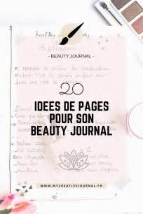 beauty journal beauty journal 20 id 233 es de pages cr 233 atives my