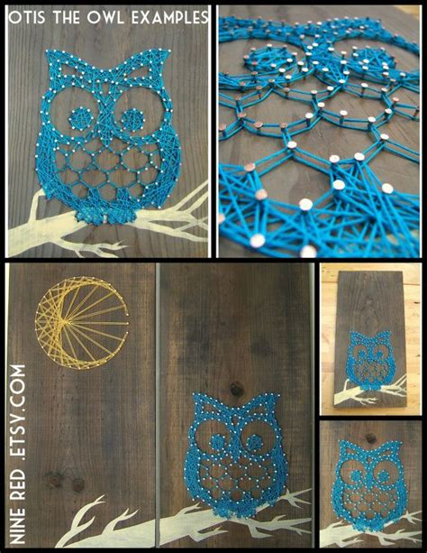 string art pattern owl string art pattern otis the owl 9 5 quot x 7 5 quot