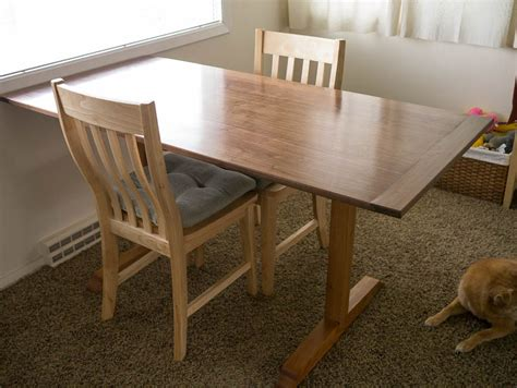 Plans For Dining Room Table by Diy Woodworking Dining Room Table Plans Wooden Pdf Mission