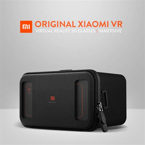 Vr Box Xiaomi original xiaomi vr box reality 3d glass