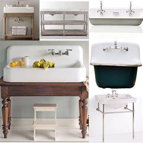 Farmhouse bathroom sinks birdie farm
