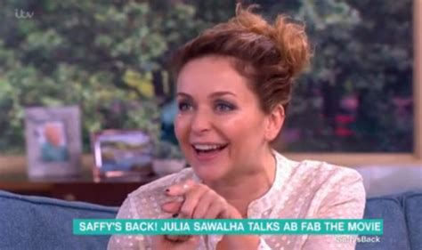 Absolutely Fabulous Fabsugar Want Need 47 by Sawalha Reveals Crush On Phillip Schofield And Ab