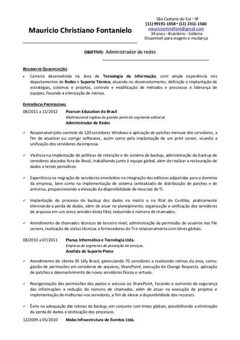 Curriculo Mauricio