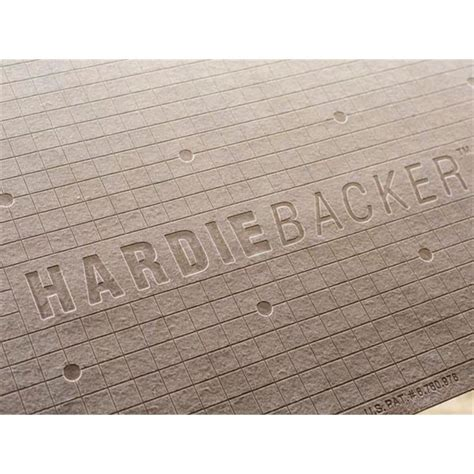 james hardie hardiebacker 3 ft x 5 ft x 1 4 in cement backerboard 220022 the home depot