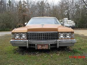 1974 Cadillac Coupe For Sale 1974 Cadillac Coupe For Sale Chattanooga Tennessee