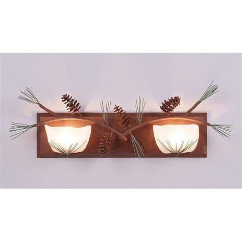 pine cone vanity lights halogen pine cone vanity lights