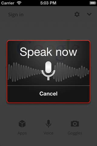 voice search app for android voice search app for ios and android like